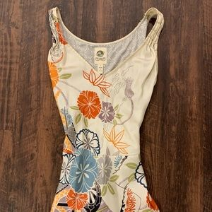 Anthropologie | 100% Silk Floral Tank 🌺💗